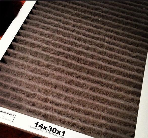 Furnace Maintenance Air Filter
