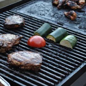 Summber BBQ Cook Outdoors