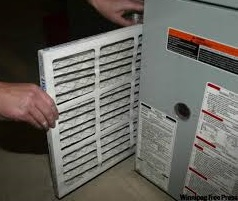 furnace change image how to change filter