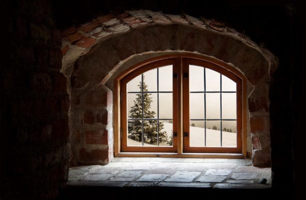 window in winter - premier hvac
